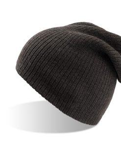 zimska kapa brad siva