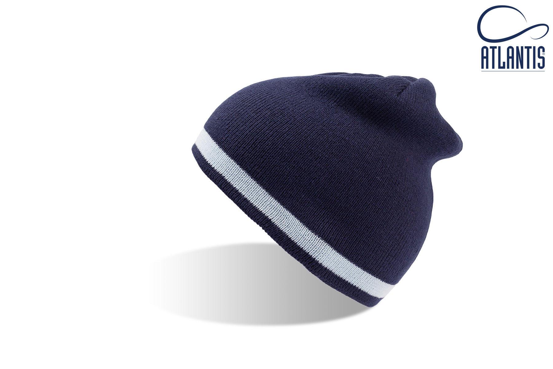 zimska kapa moover modro bela