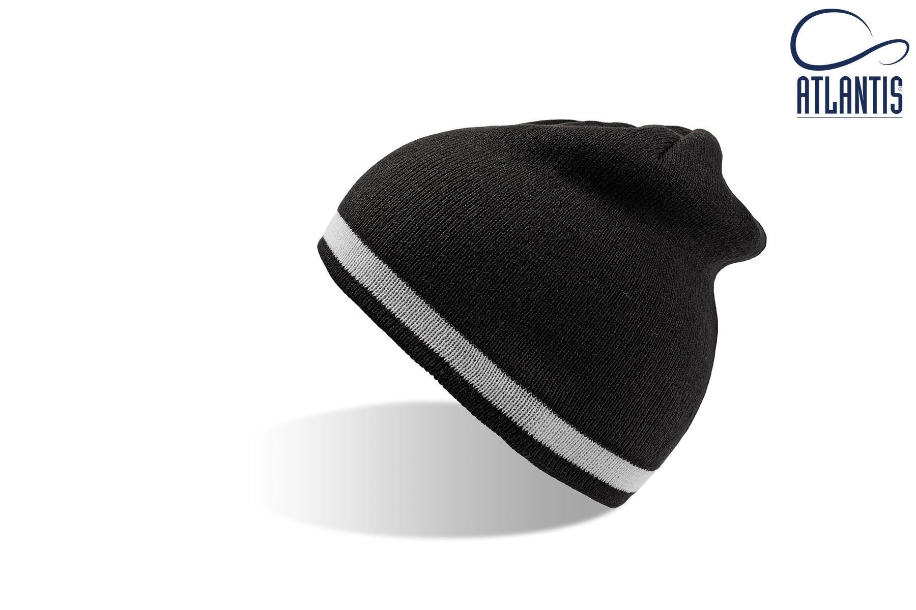 zimska kapa moover sivo bela