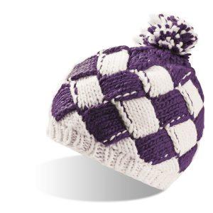 zimska kapa pakir vijolicna