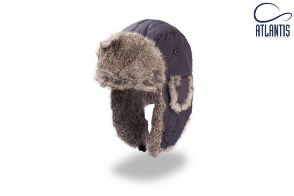 zimska kapa polar modra