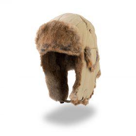 zimska kapa polar rjava