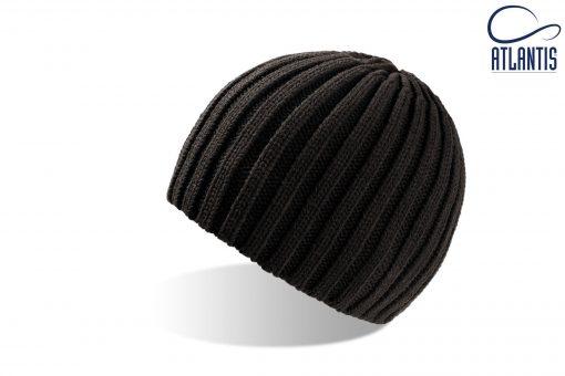 zimska kapa rock crna