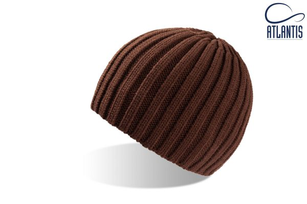 zimska kapa rock rjava