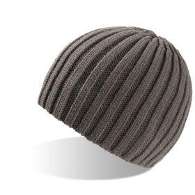 zimska kapa rock siva