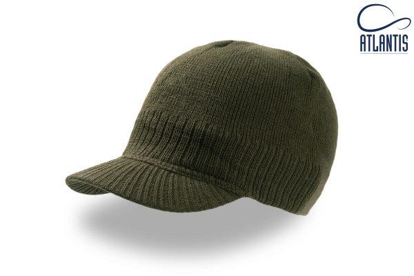 zimska kapa walker olivna