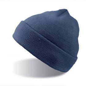 zimska kapa wind modra