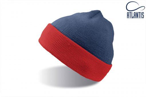 zimska kapa wind modro rdeca