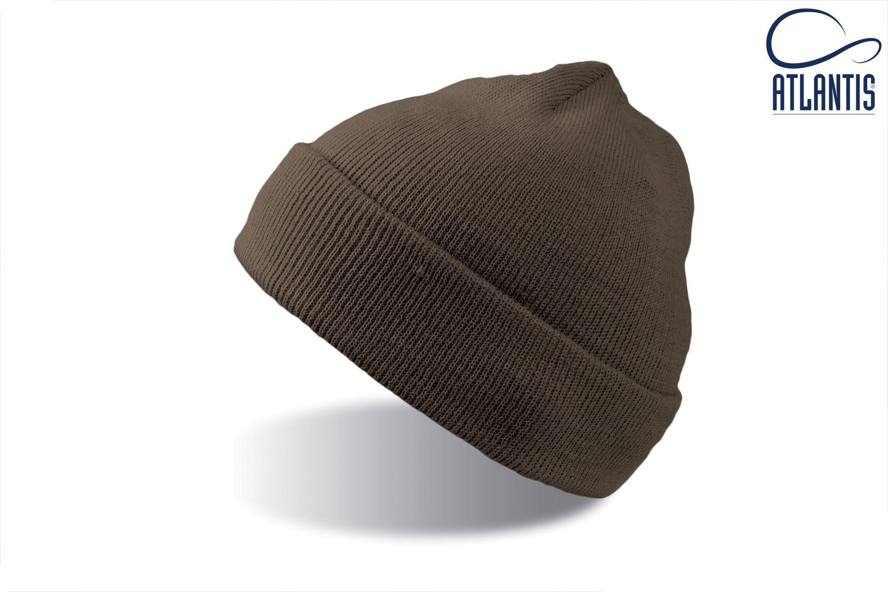 zimska kapa wind svetlo rjava