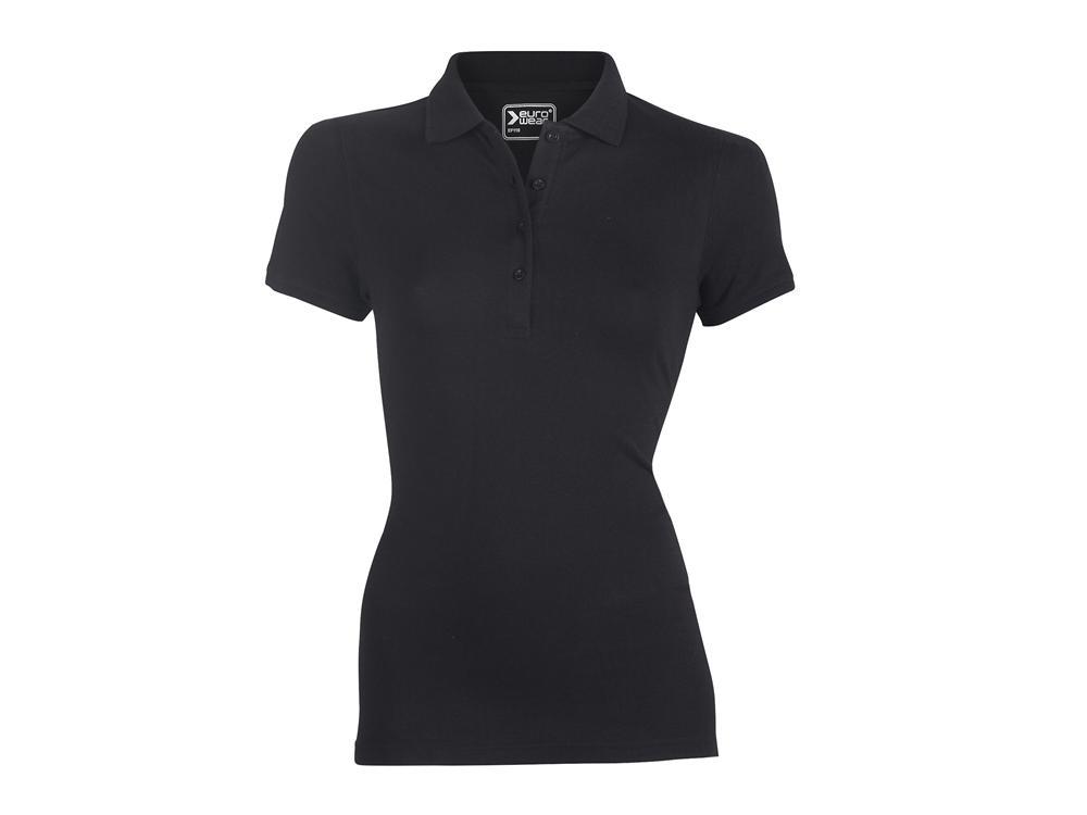 ženska polo majica črna