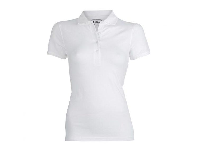 ženska polo majica bela