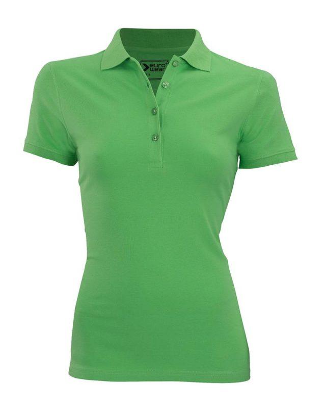 ženska polo majica zelena