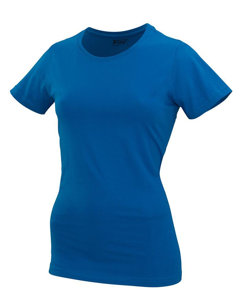 ženska t majica kratek rokav modra