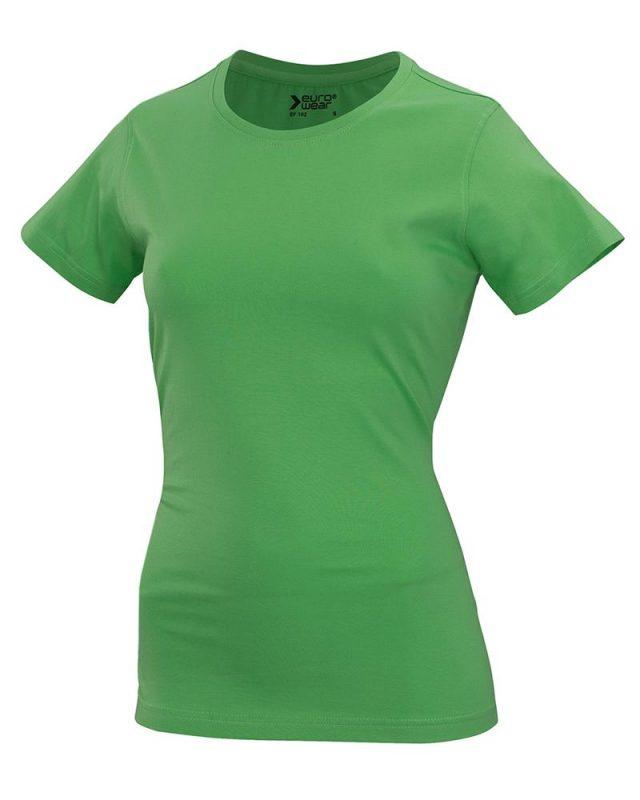 ženska t majica kratek rokav zelena