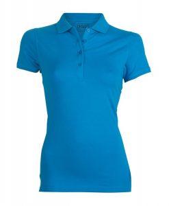 ženska polo majica modra