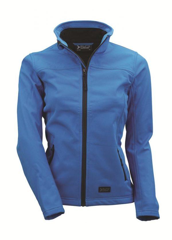 ženska soft shell jakna modra