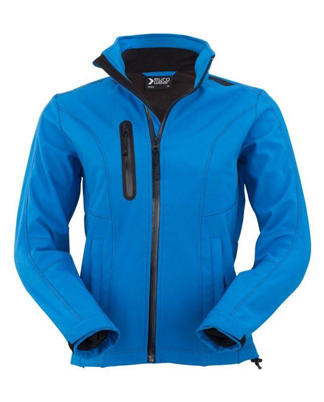 ženska soft shell jakna 602 modra