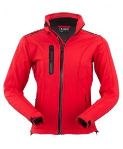 ženska soft shell jakna 602 rdeča