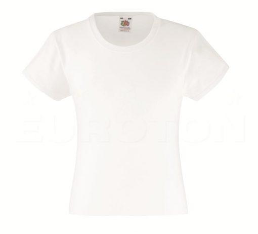 Dekliška value weight t-majica bela