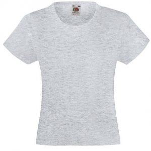 Dekliška value weight t-majica lisasto siva
