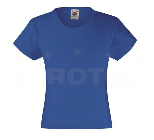 Dekliška value weight t-majica modra