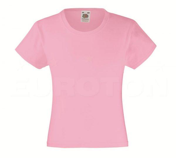 Dekliška value weight t-majica roza