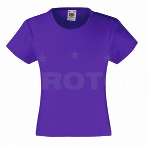 Dekliška value weight t-majica vijolična