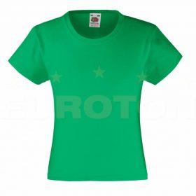 Dekliška value weight t-majica zelena