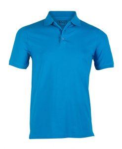 moška polo majica modra