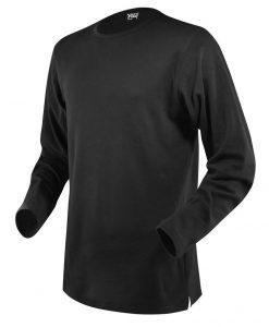 moška t majica dolg rokav črna