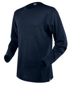 moška t majica dolg rokav mornarsko modra