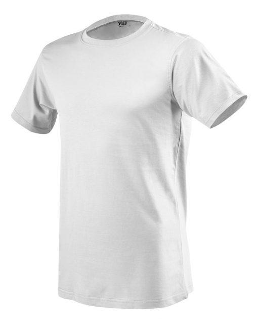 moška t majica kratek rokav bela