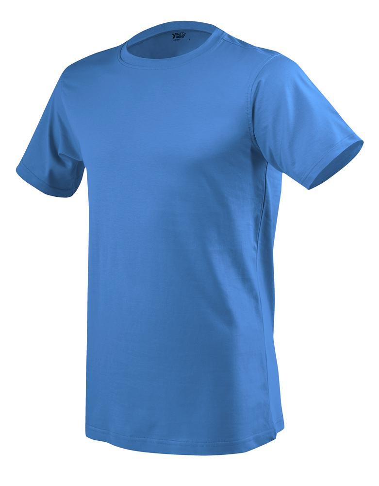 moška t majica kratek rokav modra