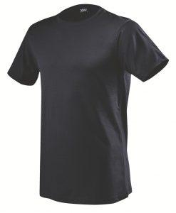 moška t majica kratek rokav mornarsko modra