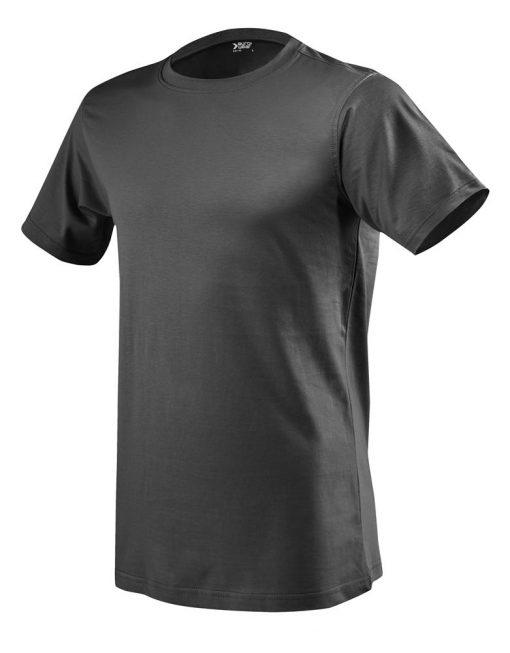 moška t majica kratek rokav temno siva