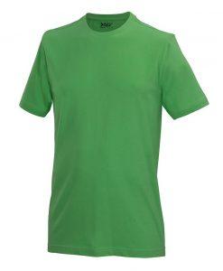 moška t majica kratek rokav zelena