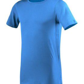 moška oprijeta t majica kratek rokav modra