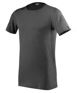 moška oprijeta t majica kratek rokav temno siva
