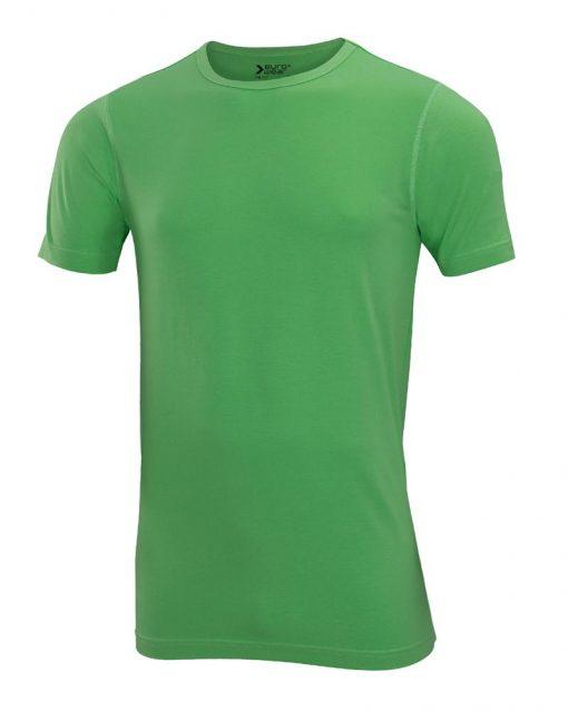 moška oprijeta t majica kratek rokav zelena