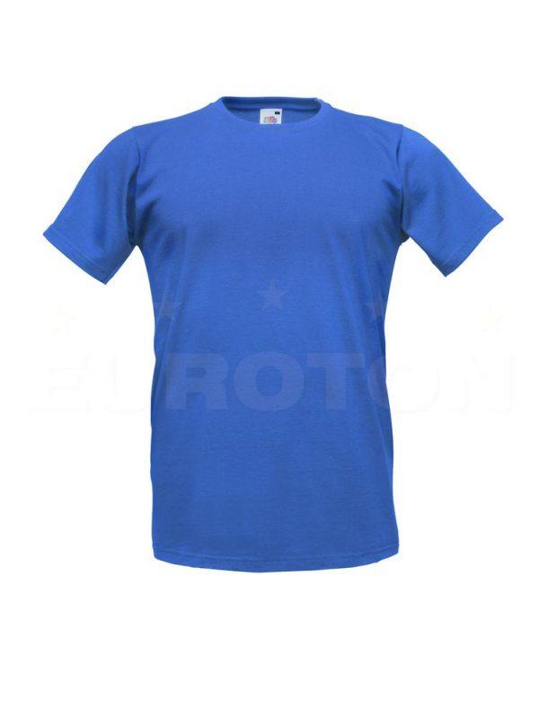 moška oprijeta value weight majica modra