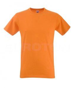 moška oprijeta value weight majica oranžna