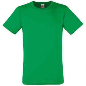 moška oprijeta value weight majica zelena
