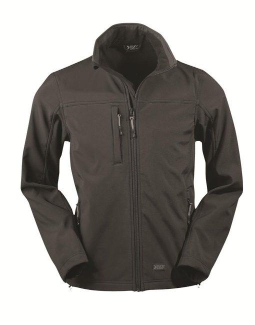moška softshell jakna črna