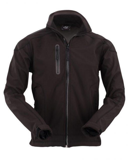 moška softshell jakna črna_602