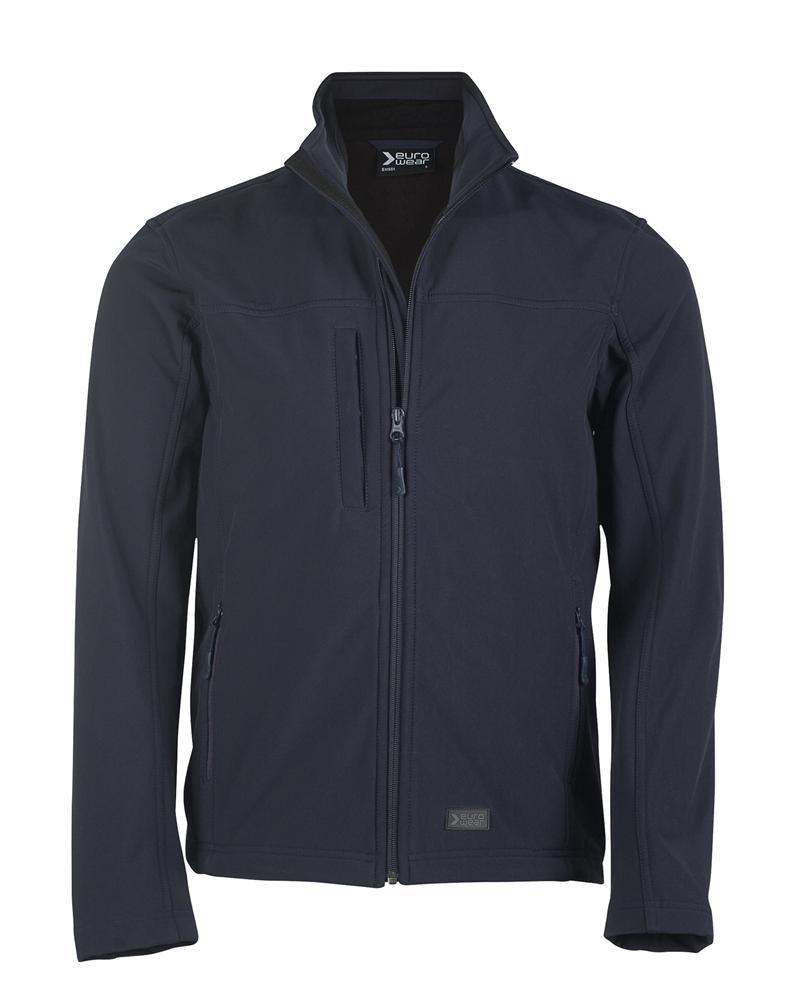 moška softshell jakna mornarsko modra
