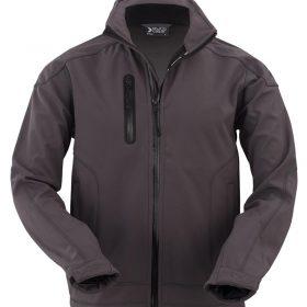 moška softshell jakna temno siva_602