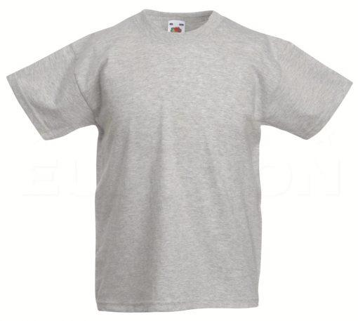 Otroska value weight t-majica lisasto siva