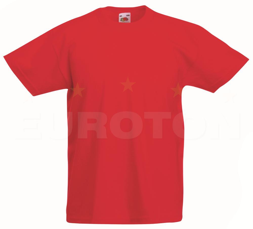 Otroska value weight t-majica rdeča