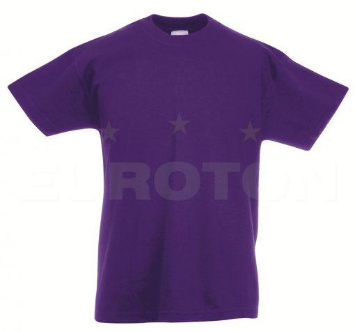 Otroska value weight t-majica vijolična