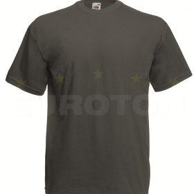 value weight t-majica kratek rokav grafitna